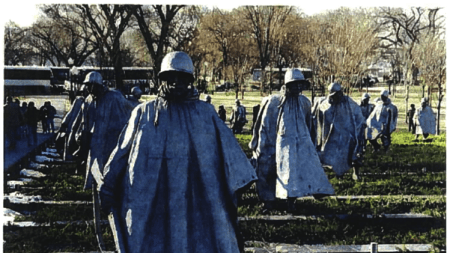USPS Pay Korean War Memorial Sculptor