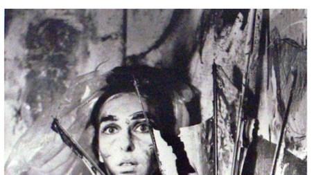Feminist-Art Icon Under Her Umbrella-Ella-Ella