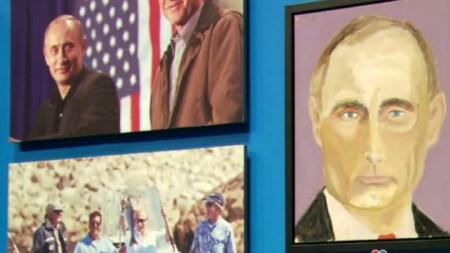 George W. Bush Portraits of Putin,