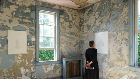 Artfully Haunted Hudson House Features Kiki