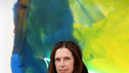 Mary Weatherford Wins 2014 Artists' Legacy