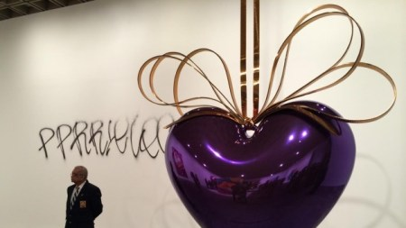 Koons Kalamity: Whitney Wall Tagged Late-Night