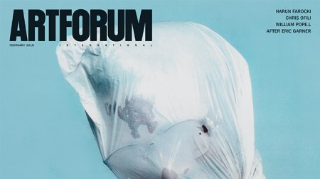 William Pope.L Discusses His Artforum Cover