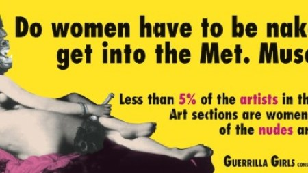 Here's Video of the Guerrilla Girls