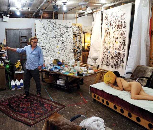 Jan Frank Photographed In His Bond Street Studio July 15 2015 Katherine