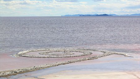 'Spiral Jetty' May Become Utah's Official
