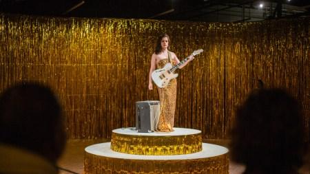 Hirshhorn Museum Looking Female Guitar Players