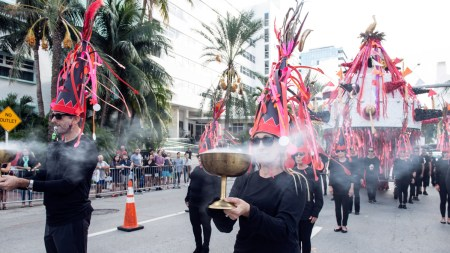 'Tide Side' Miami Beach, Presented Faena