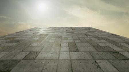 Concrete Block Levitate Armory Show