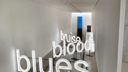 'Blue Black' Pulitzer Arts Foundation, St.