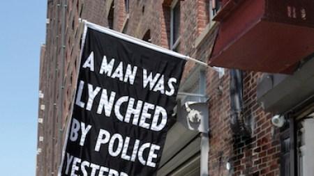 Dread Scott's ' Man Was Lynched