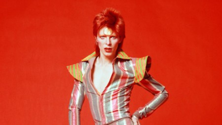 Orbiting David Bowie Exhibition Touch Down
