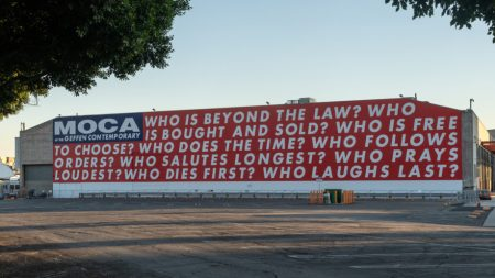 Barbara Kruger the Geffen Contemporary MOCA,