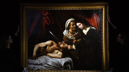 Rediscovered Painting Attributed Caravaggio Estimated Sell