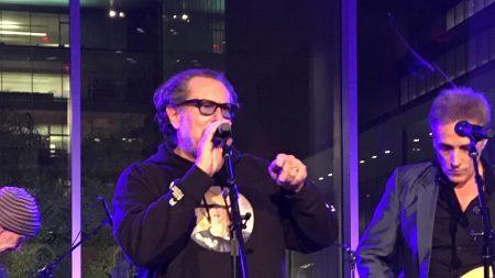 Julian Schnabel Croons MoMA