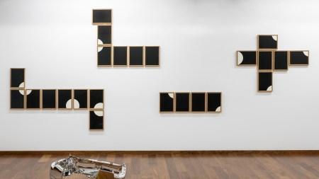 """Installation view of """"Darío Escobar: Lo"""