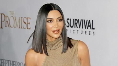 Kim Kardashian West in 2017