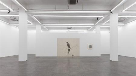 Installation view of Zhang Hui's 2018
