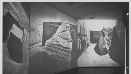 Installation view of 'Information', 1970, at