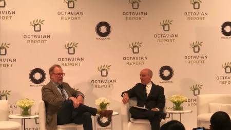 John Currin Speaks at Octavian Forum