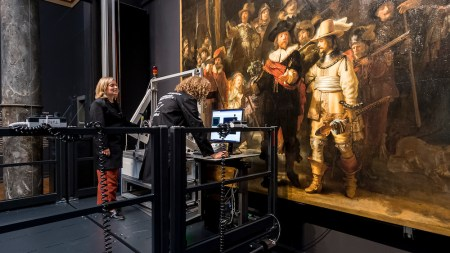 Rembrandt's 'Night Watch' Is Being Studied