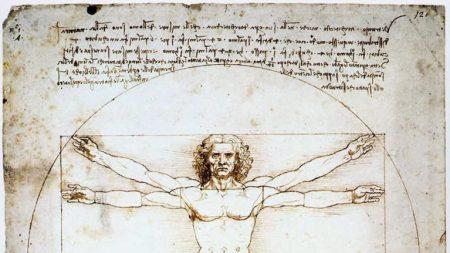 Leonardo da Vinci, 'Vitruvian Man,' ca.