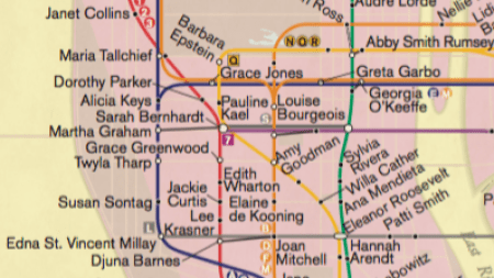 New York Subway Map Reimagined for