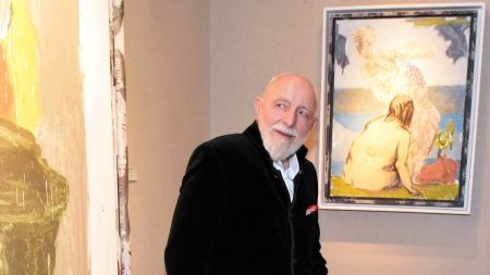 Markus LupertzMarkus Lupertz at Galerie Bernheimer,