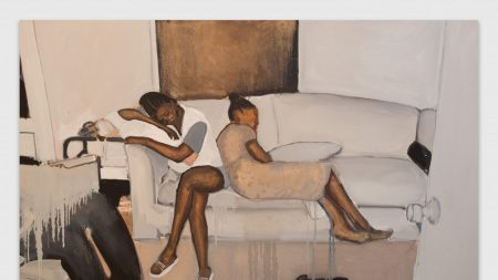 Noah Davis's 'Untitled,' from 2015, depicts