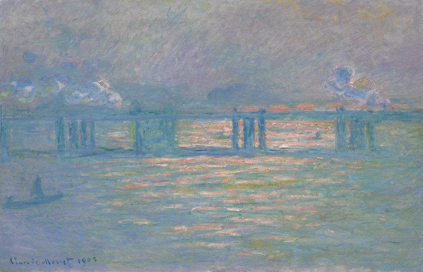 Claude Monet, 'Charing Cross Bridge', 1903.