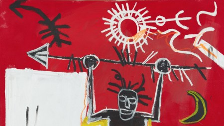 Jean-Michel Basquiat, The Ring, 1981, Phillips