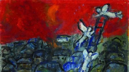 Marc Chagall's 'Jacob's Ladder'.
