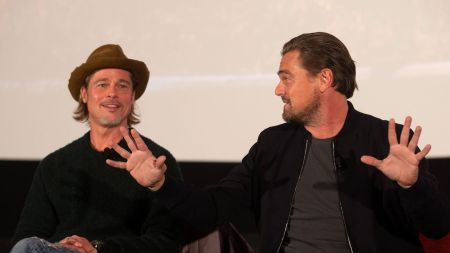 Brad Pitt and Leonardo DiCaprio'Once Upon