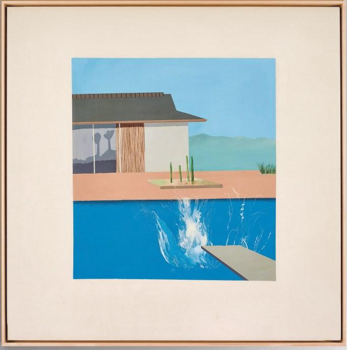 David Hockney, 'The Splash', 1966.
