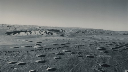 Emmet Gowin, Subsidence Craters, Looking Southeast