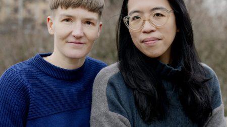 Artist Pilvi Takala and curator Christina