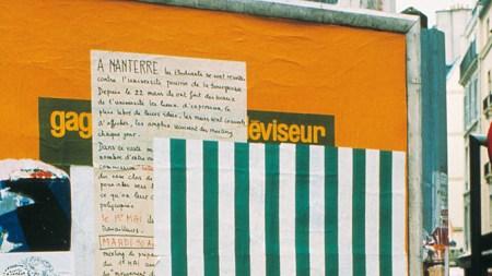 Daniel Buren, Photo-souvenir: Affichage sauvage (detail),