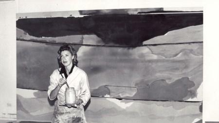 Helen Frankenthaler in her East 83rd