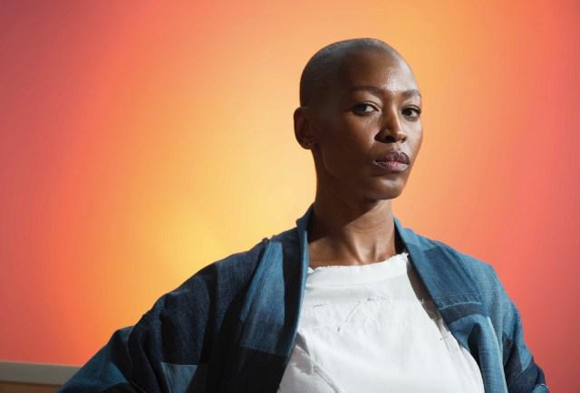 Portrait of Billie Zangewa.