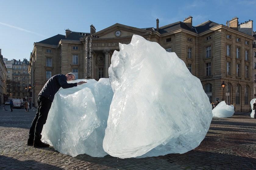 Olafur Eliasson and Minik Rosing, Ice