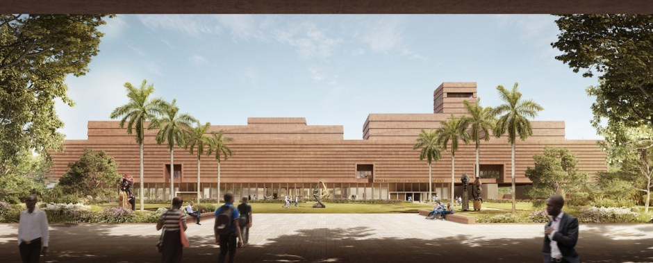 The Edo Museum of West African Art will pay homage to Benin's architectural traditions with its layout.