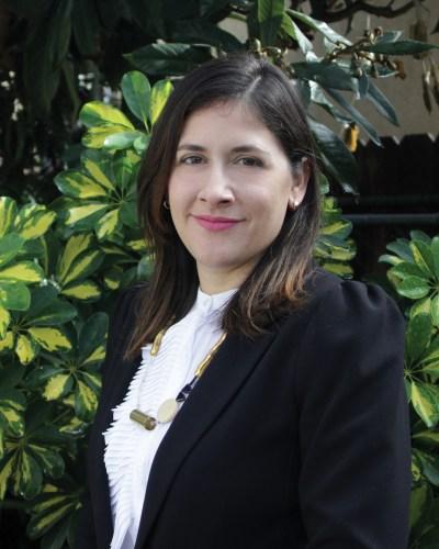 Portrait of Marcela Guerrero.