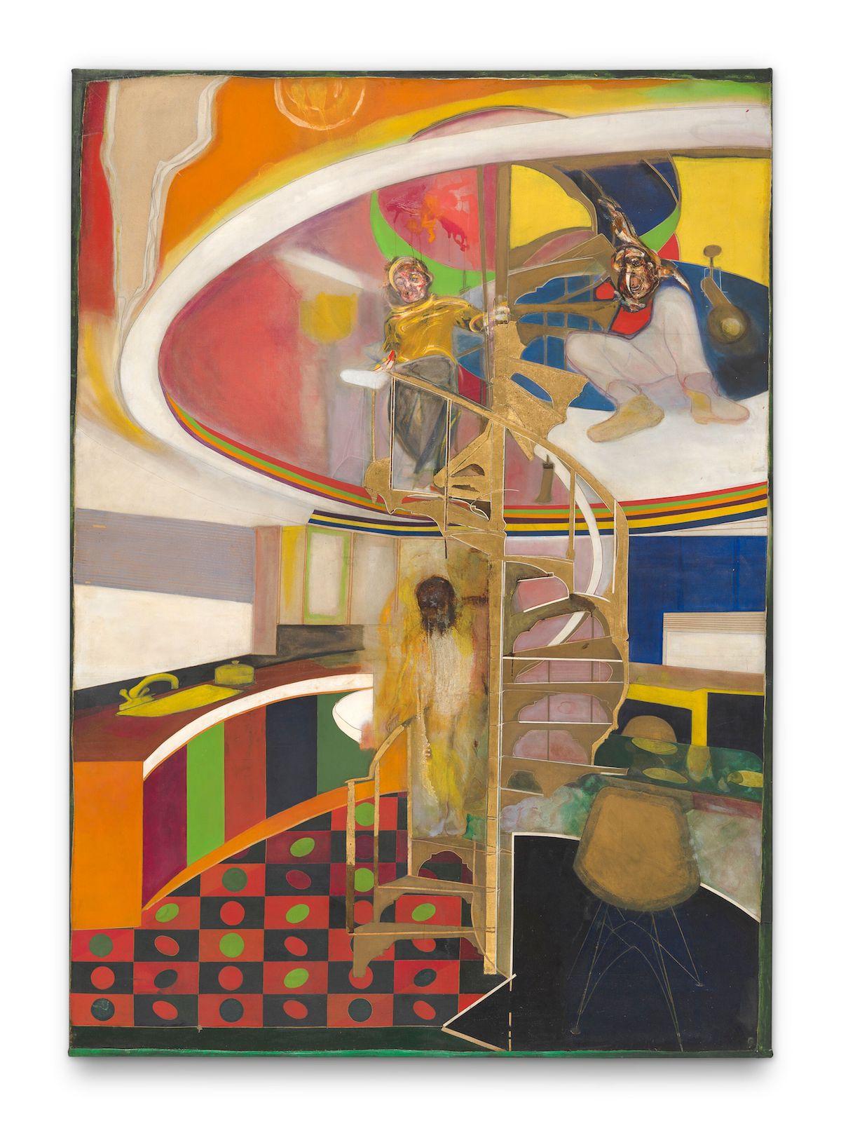 Frank Bowling, 'Mirror', 1964–66.
