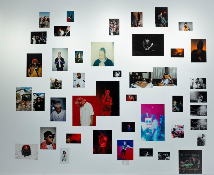 Installation view of 'Festival: A Visual Exploration of Hip-Hop & Music' at Anthony Gallery, Chicago.