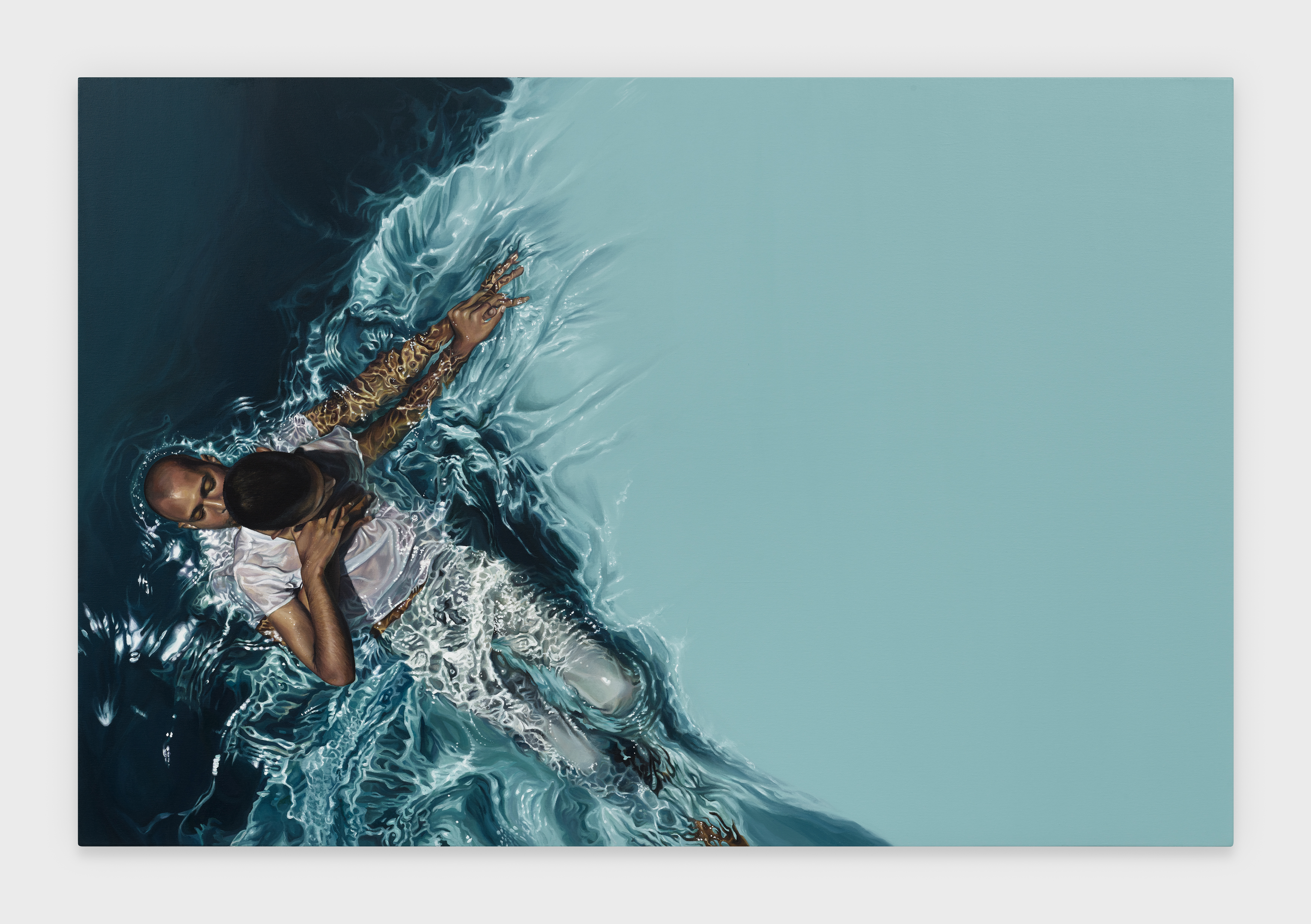 Calida Rawles's Paintings of Water Push