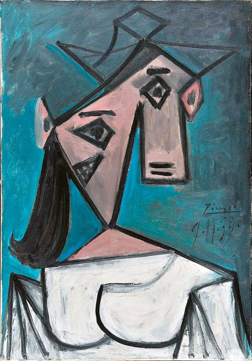 Pablo Picasso's 'Head of a Woman,'