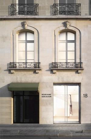 A rendering of Mariane Ibrahim's new space in Paris.