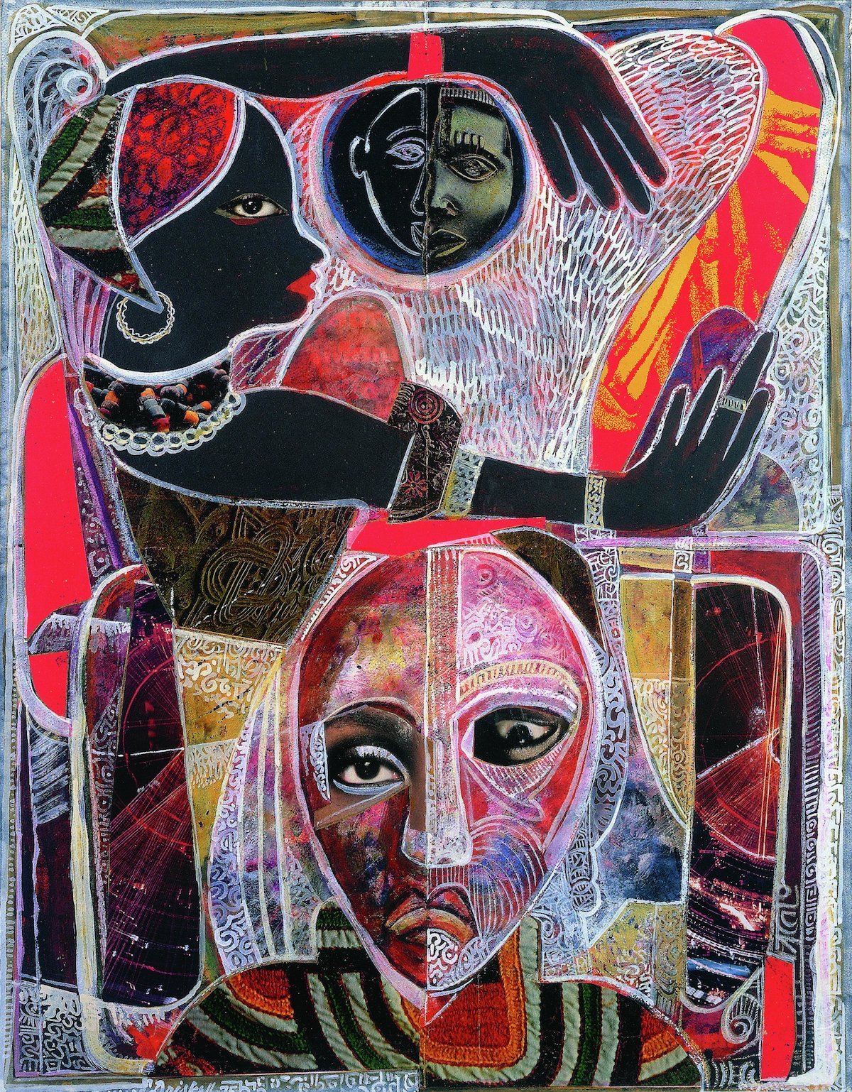 David C. Driskell, 'Memories of a Distant Past', 1975.
