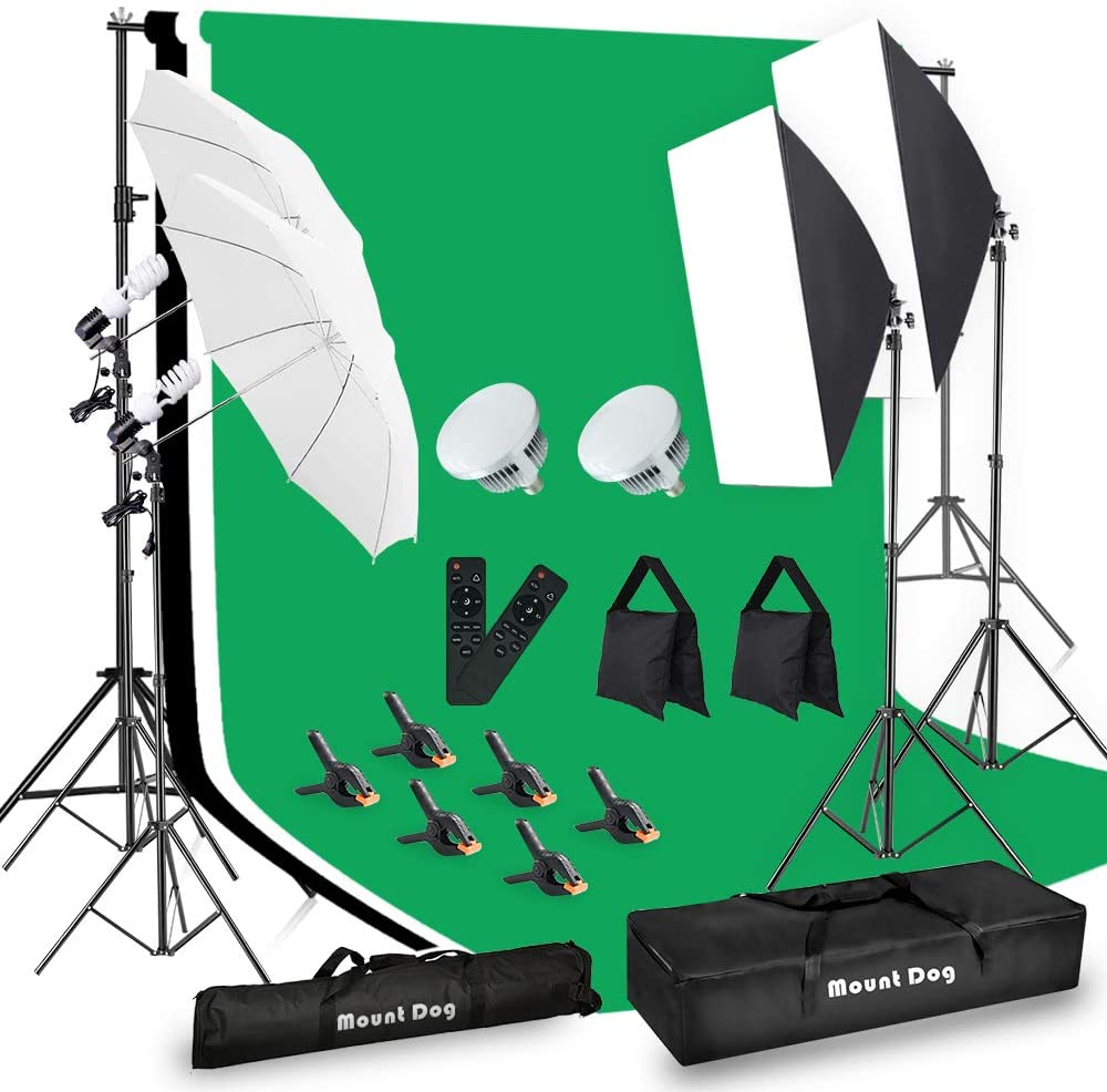 best continuous lighting kits for
