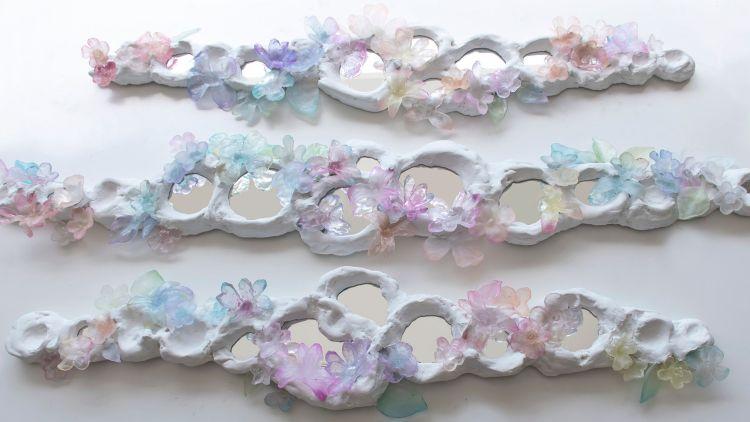 Kim Markel's wall mirrors